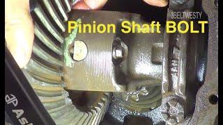 rear AXLE pinion shaft bolt ideas?