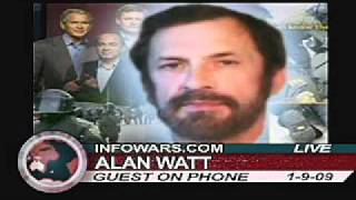 Alex Jones & Alan Watt: Eugenics, Evil, Depopulaton and Satan 1/6
