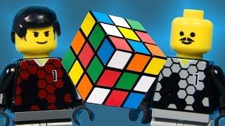 Team A vs Team B: Rubik's Cube (LEGO Animation)