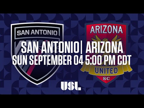 WATCH LIVE: San Antonio FC vs Arizona United SC 9-4-16