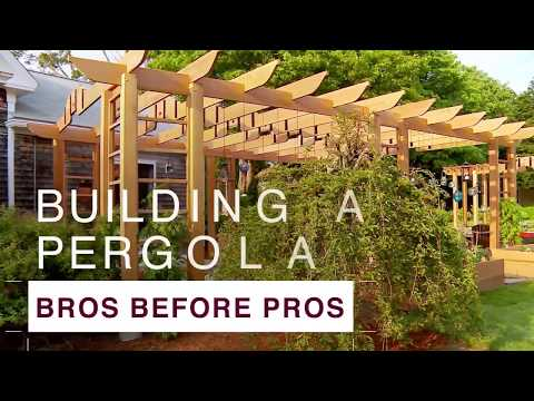 How to Build a Pergola - DIY Network