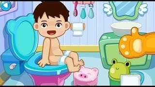 Toilet Training | I bambini imparano Potty Training | Bambino bagno balneazione Gioco Di 2Baby