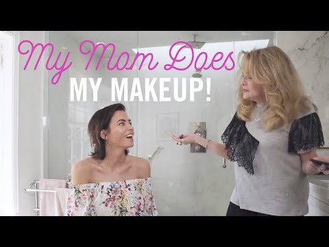 My Mom Does My Makeup!  Day to Night Makeup Tutorial  Jenna Dewan Tatum