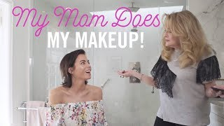 My Mom Does My Makeup! | Day to Night Makeup Tutorial | Jenna Dewan