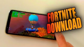 FINALLY-FORTNITE FÜR MOTO G6 PLUS (ALLE MOBILES)-DOWNLOAD THE FORTNITE MOD APK
