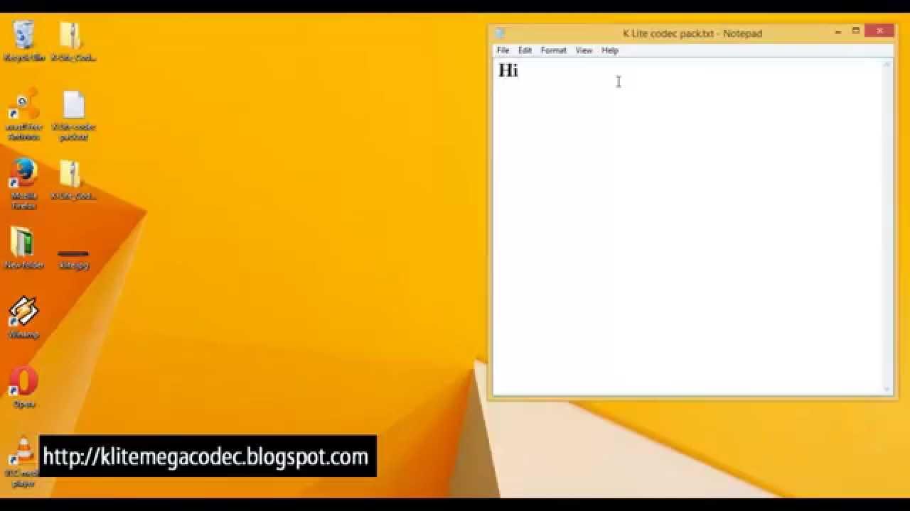 Windows 7 Codecs est un ensemble de pack de codecs audio/vidéo. ... (A noter que l'installation de la version 32-bit est un prérequis. A voir également. Telecharger codec gratuit pour windows 7;