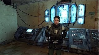 The Orange Box: Half Life 2 - First Ten Minutes Gordon Freeman Arrival HD Gameplay Playstation 3