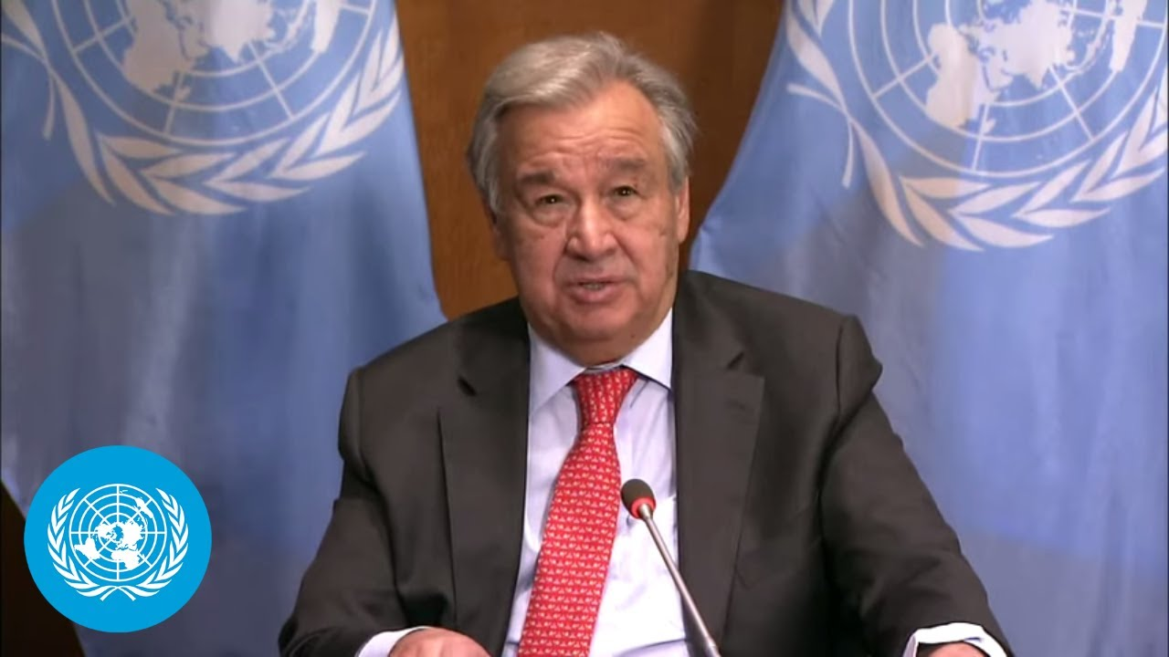 UN Chief Press Briefing – Climate Ambition Summit 2020