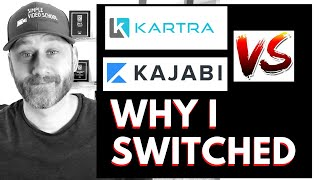 Kartra vs Kajabi [Why I switched platforms] Landing Pages