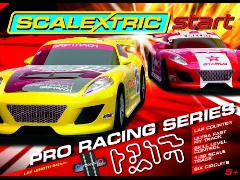 Scalextric START set Review: Pro Racing Series