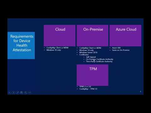 Video Tutorial: ConfigMgr cloud integration Part 2 – Device Health Attestation
