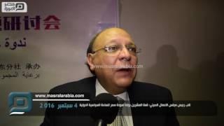 مصر العربية | نائب رئيس مجلس الاعمال الصيني: قمة العشرين بوابة لعودة مصر للساحة السياسية الدولية