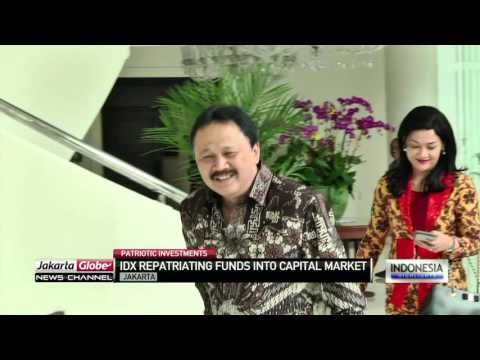IDX Repatriating Funds Into Capital Market