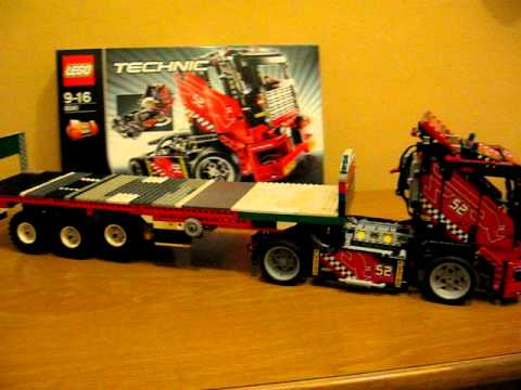 camion lego technic youtube. Black Bedroom Furniture Sets. Home Design Ideas