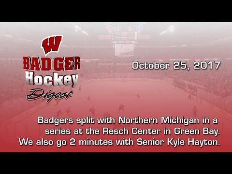 Badger Hockey Digest Week 5 10/25/17