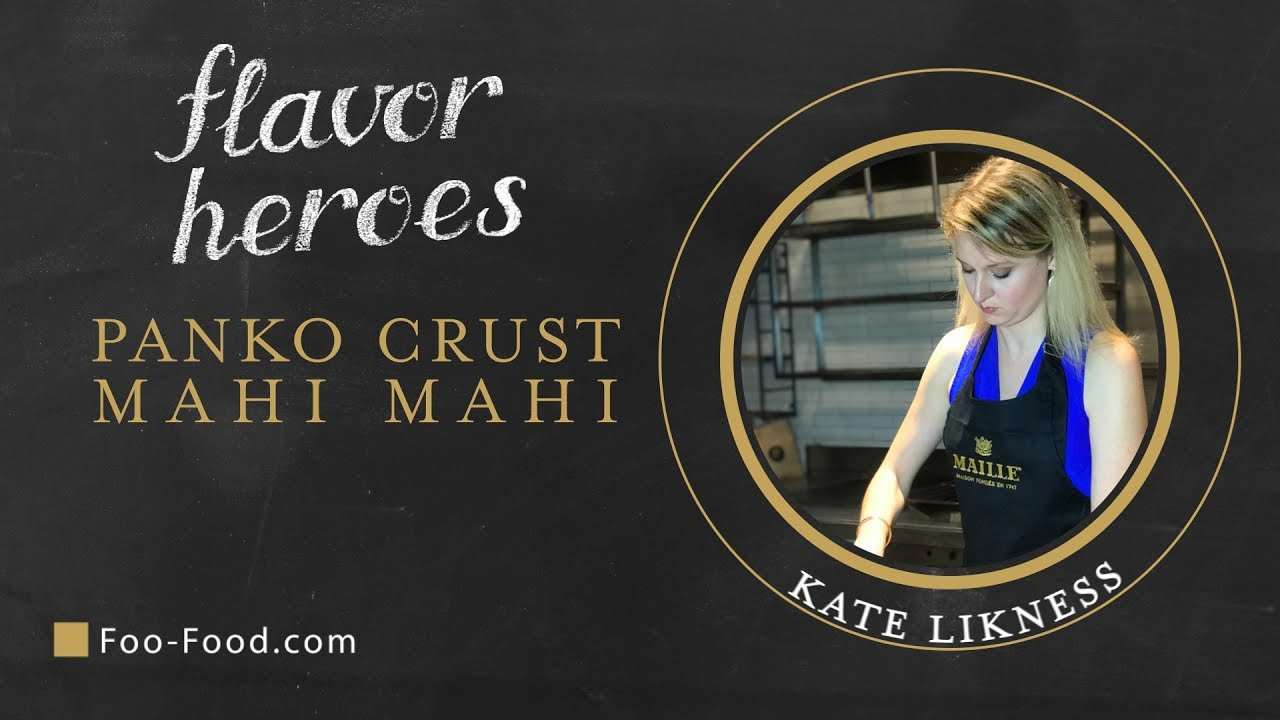 Panko Crust Mahi Mahi Recipe - Maille ...