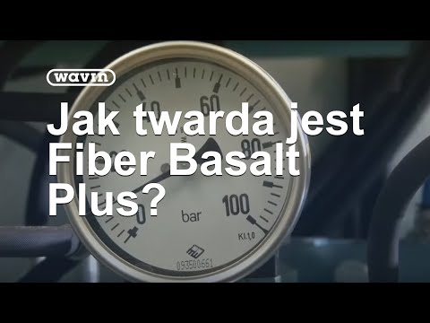 Fiber Basalt Plus - Rura Twarda Jak Skała | Wavin