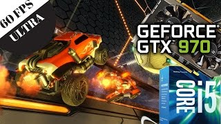 Rocket League: i5 6400 & GTX 970, 1440p Ultra