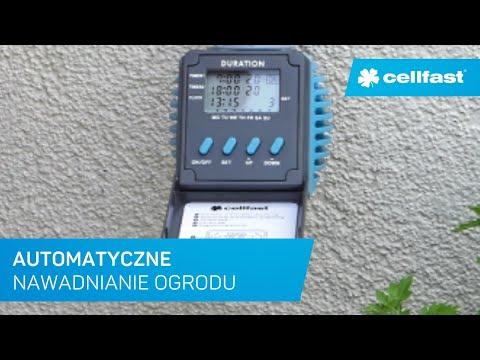 Cellfast - prezentacja cyfrowego sterownika nawadniania IDEAL™