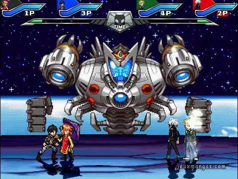 Jump Ultimate Stars Reborn MUGEN - Gameplay
