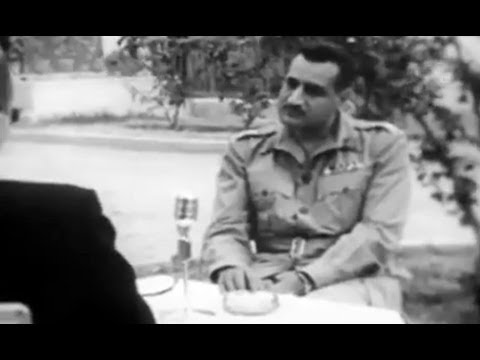 Interview with Gamal Abdel Nasser (1954)