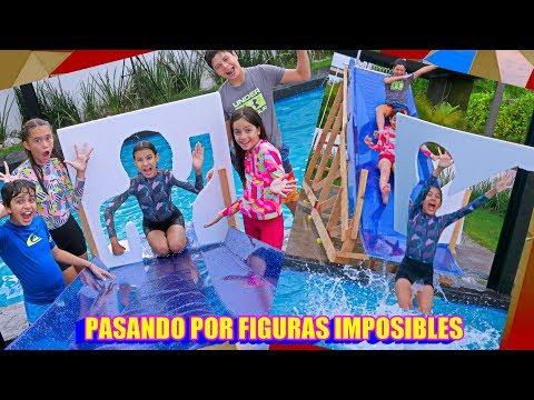 PASANDO A TRAVES de SiLUETAS IMPOSiBLES | TV Ana Emilia