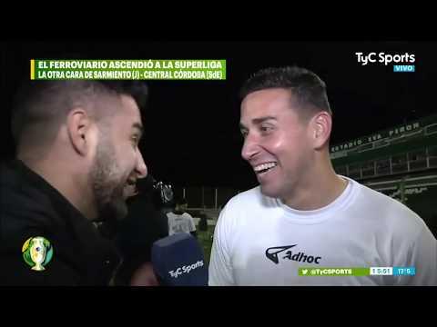 Sarmiento de Junín salió de la zona de descenso al vencer a Patronato de Paraná from YouTube · Duration:  1 minutes 19 seconds