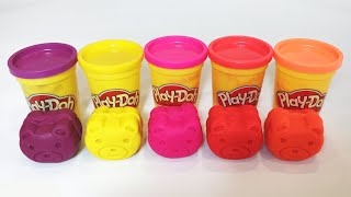 Learn Colors Play Doh with 6 Bears Suprise Colors Learning Video Kids and Toddlers