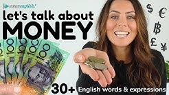 How To Talk About MONEY 💰 English Conversation & Vocabulary