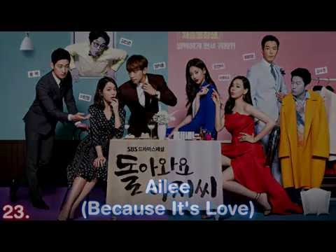 Top 25 Best Korean Drama OST 2011 2016