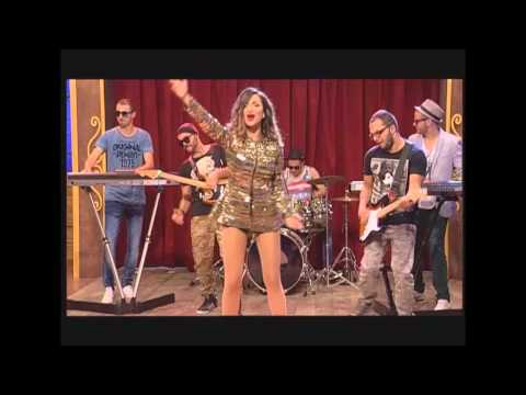 Maya Berovi - ime me drogira 2014 - Ami G Show - (TV Pink)