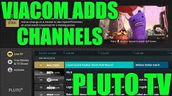 PLUTO TV APP GETS A MAJOR UPGRADE! VIACOM ADDS FREE LIVE CHANNELS TO THE PLUTO TV APP