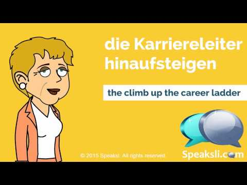 German Employment Vocabulary | Learn German | Speaksli