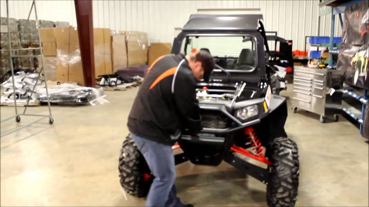 Bad Dawg Accessories RZR Front Tube Bumper Installation Video