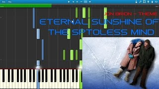 JON BRION - ETERNAL SUNSHINE OF THE SPOTLESS MIND [PIANO TUTORIAL] (SYNTHESIA) cover by Pianolivo