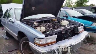 1995 Buick Roadmaster sedan at Budget U Pull It in Orlando, FL