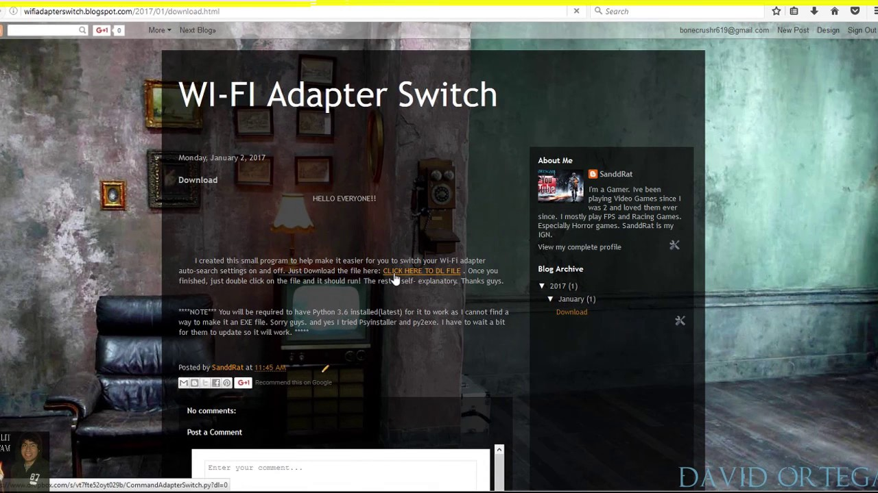 UPDATE: I MADE A WIFI ADAPTER SWITCH/ Lag Spike(WIFI)(POSSIBLE FIX)