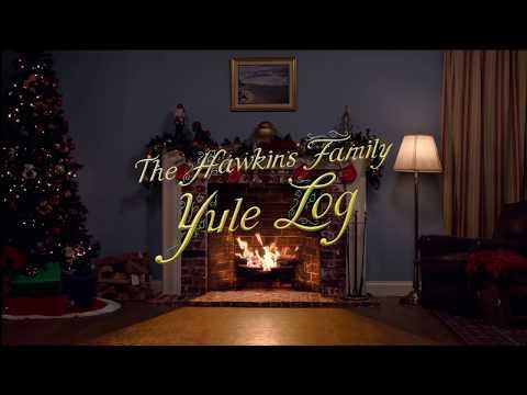 The Hawkins Family Yule Log (Rated R) | Full HD | 2 Hours |