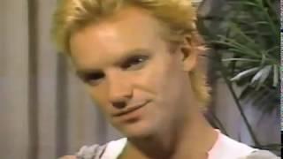 Friday Night Videos: Sting interview [1984]