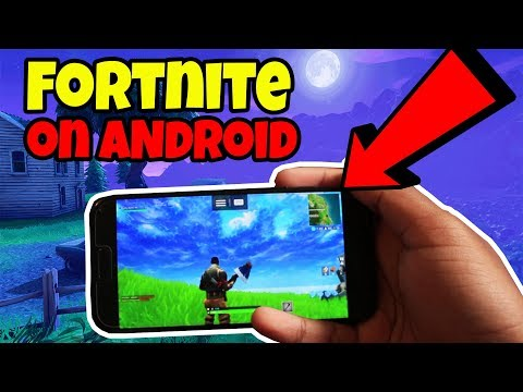 ONLY WAY TO PLAY FORTNITE ON ANDROID! (No Human Verification)