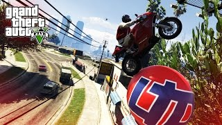 AMAZING BIKE STUNTS! - (GTA 5 Top 5 Stunts)