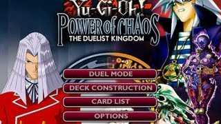 Yu-Gi-Oh! Power of Chaos - The Duelist Kingdom ( Bakura VS Pegasus )