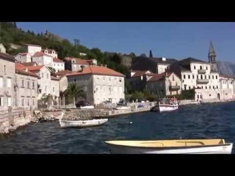 Perast, Kotor, Montenegro HD