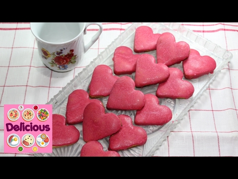 Homemade Valentine's Day Cookies Recipe - How To Make Easy Valentine's Day Cookie Recipe - Delicious