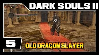 DARK SOULS 2 - Parte #5 - O Velho Caçador De Dragões  BOSS - [Detonado Legendado - PT-BR]