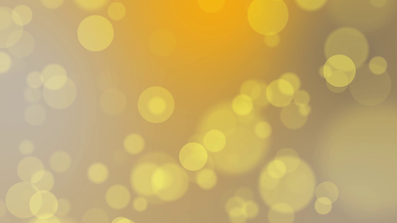 Abstract Bokeh Golden Particles Free Animated Motion Background Hd 60fps