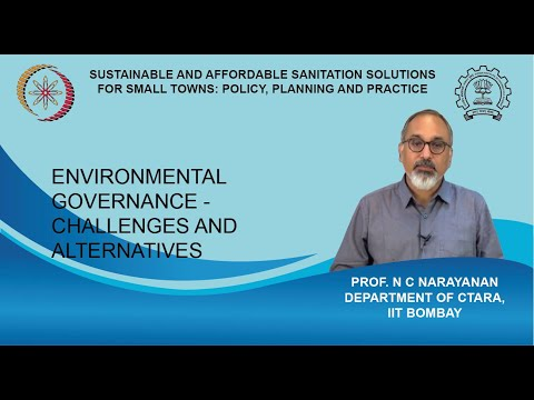 Lecture 8 : Environmental Governance - Challenges And Alternatives