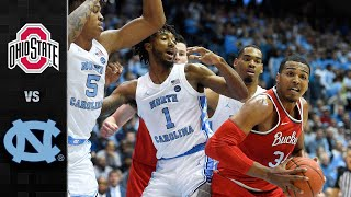 Ohio State vs. North Carolina Men's Basketball Highlights (2019-20)