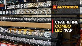 LED Фары комбинированного света. Дополнительные светодиодные фары. Автооптика