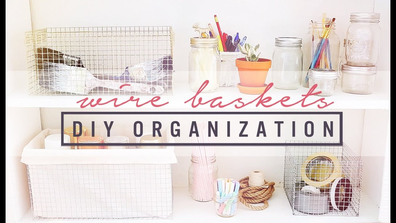 Diy Wire Crates Organization Ideas The Sorry Girls Youtube Oakley Short Circuit Backpack 2013 Pinterest